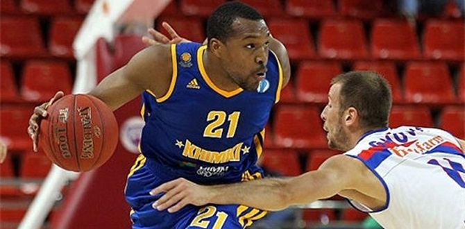 Regular Season Round 5 MVP: Mike Green, Khimki Moscow Region
