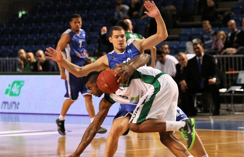 Donta Smith - Maccabi Haifa Bazan - EC13 (photo Kalev Cramo)