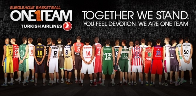 Euroleague players give up their names in support of One Team, Special Olympics