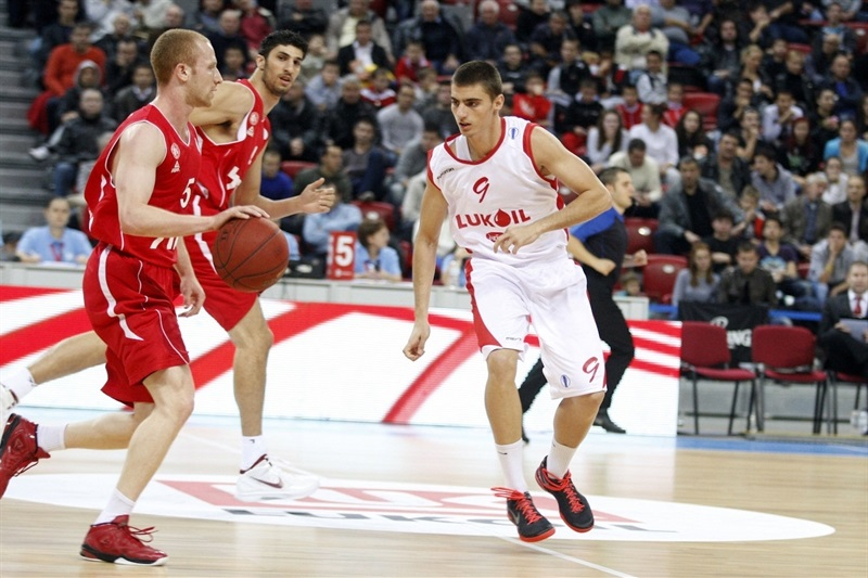 Zach Rosen - Hapoel Jerusalem - EC13 (photo Lukoil)