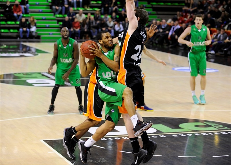Chris Wright - Asvel Villeurbanne - EC13 (photo Asvel Villeurbanne)