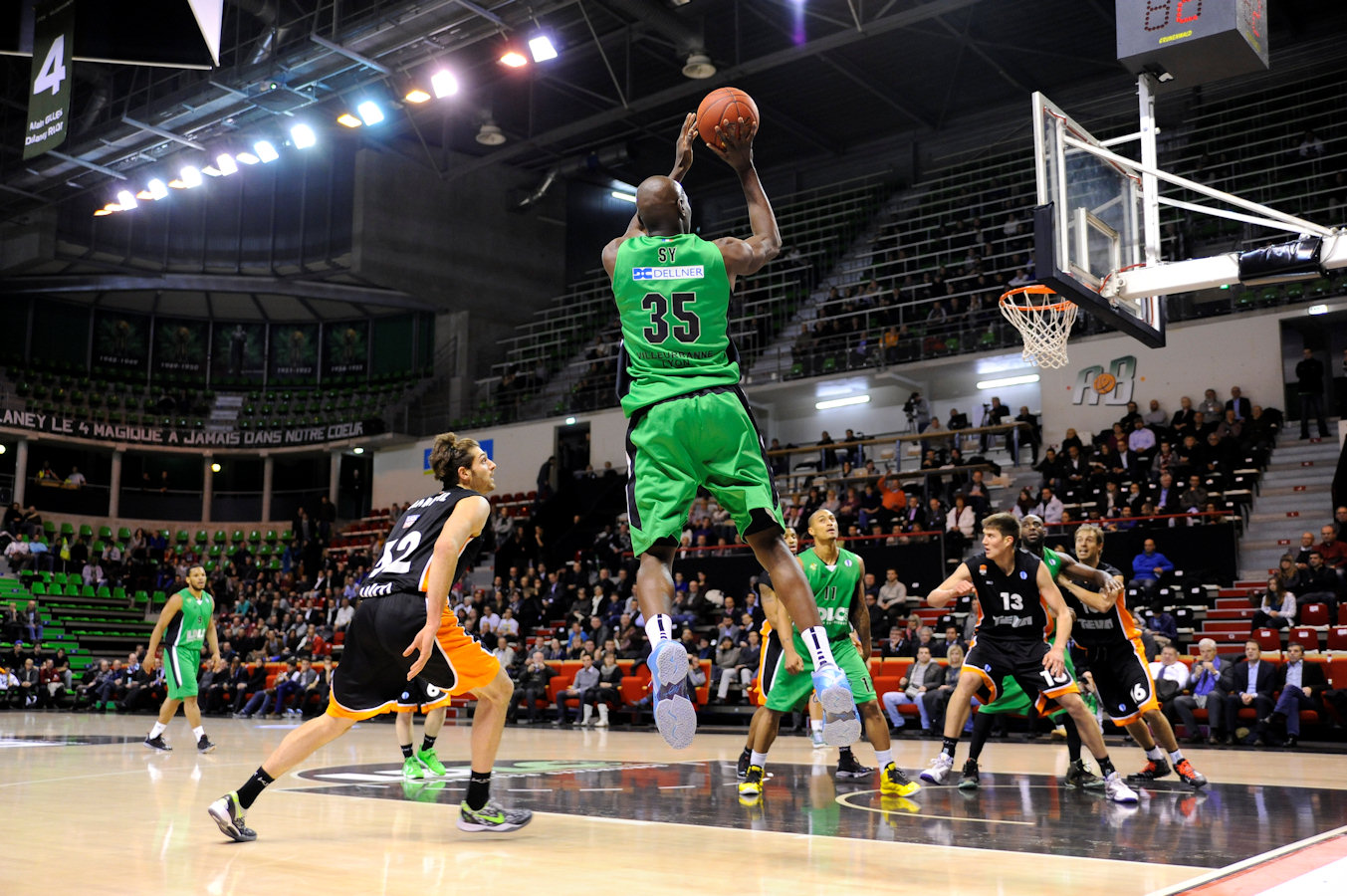 Amara Sy - Asvel Villeurbanne - EC13 (photo Asvel Villeurbanne)