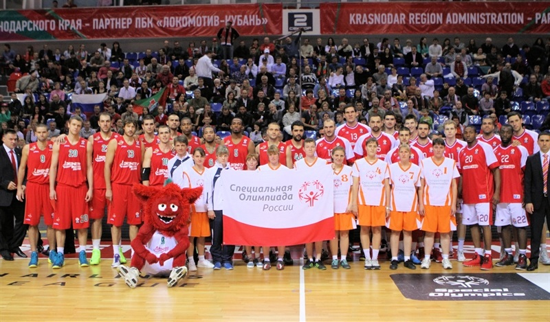 One Team - Special Olympics Ceremony in Krasnodar - EB13
