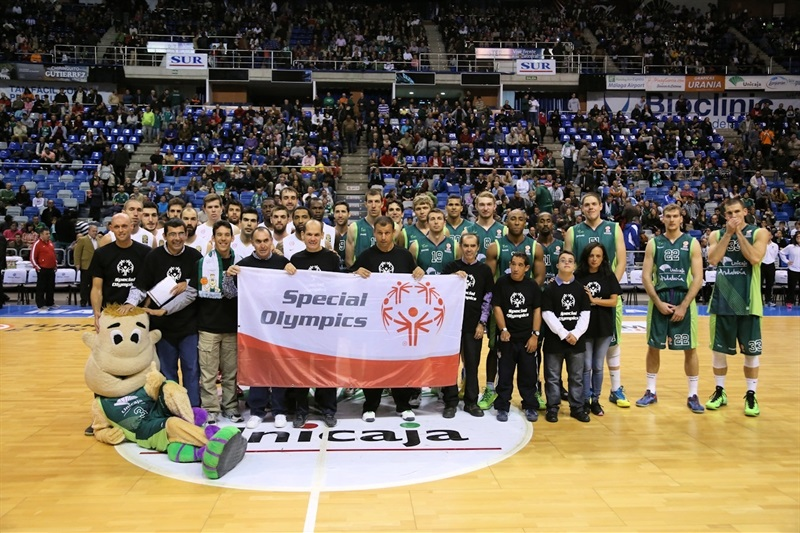One Team - Special Olympics Ceremony in Malaga