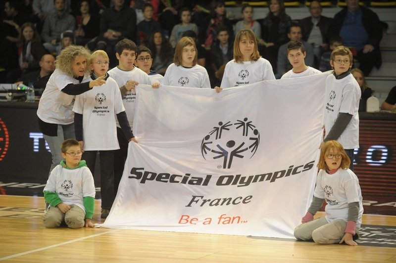 Special Olympics Ceremony in Strasbourg