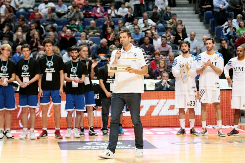 One Team - Felipe Reyes - Special Olympics Ceremony in Madrid