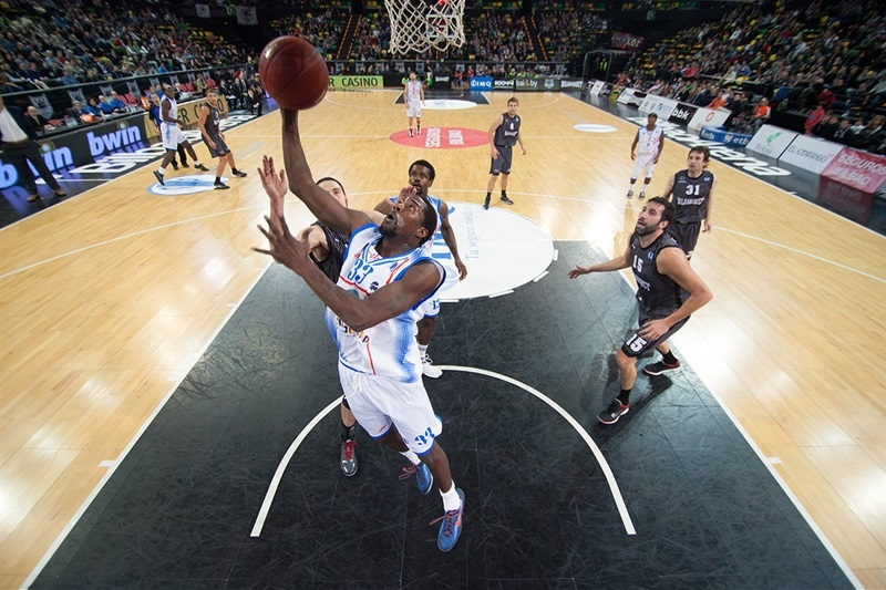 Omar Thomas - Banco di Sardegna Sassari - EC13 (photo Bilbao Basket)
