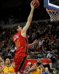 Damjan Rudez - CAI Zaragoza - EC13 (photo Basket Zaragoza - Esther Casas)
