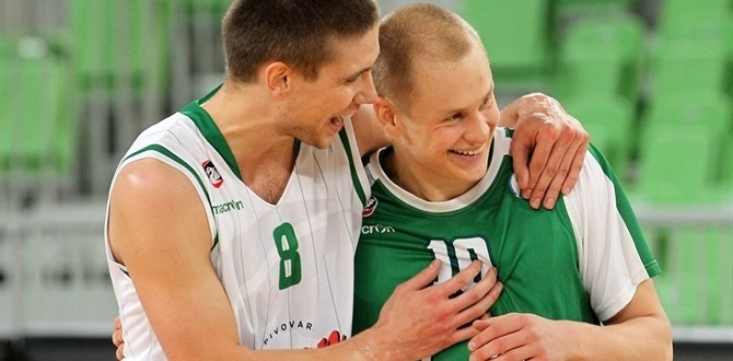Regular Season Round 7 MVP: Sasu Salin, Union Olimpija Ljubljana