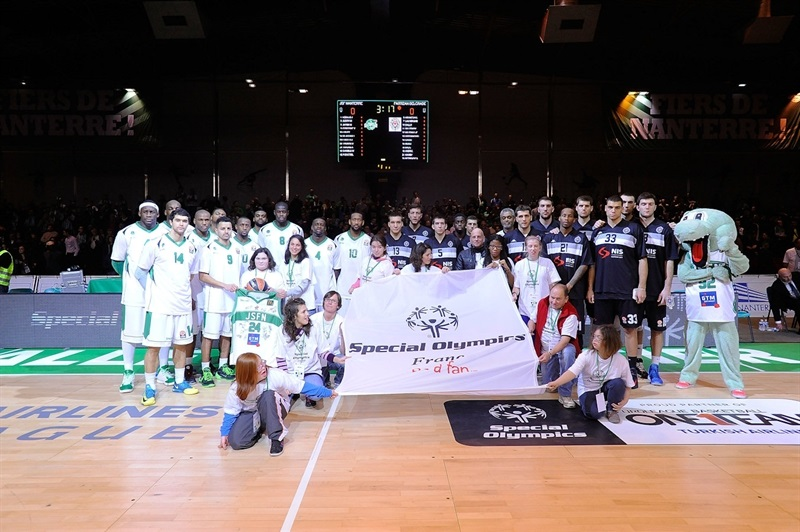 Special Olympics Ceremony in Nanterre