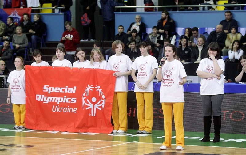 Special Olympics Ceremony in Kiev