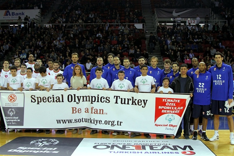 Special Olympics Ceremony in Istanbul