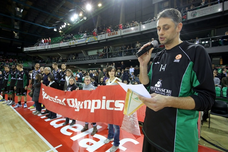 Tomas Ress, Special Olympics Ceremony in Nelson Mandela Forum