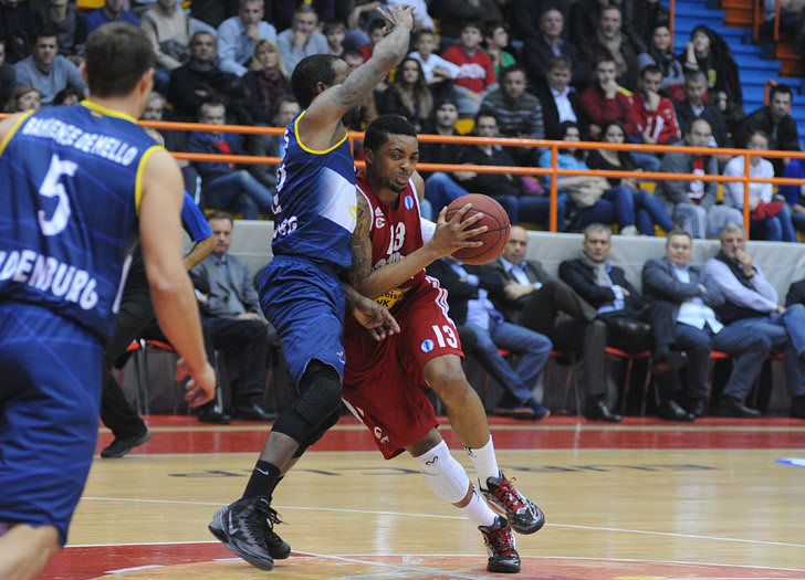 Allan Ray - Cedevita Zagreb - EC13 (photo Cedevita)