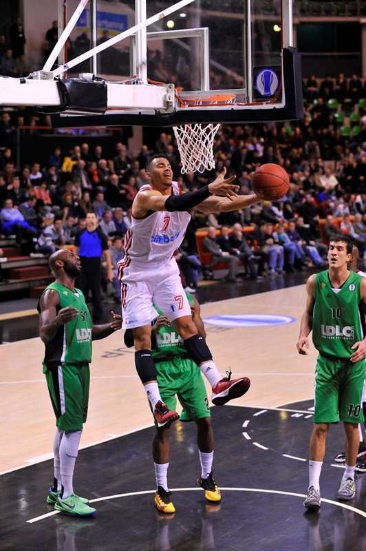 Erik Rush - Cimberio Varese - EC13 (photo Asvel Villeurbanne)