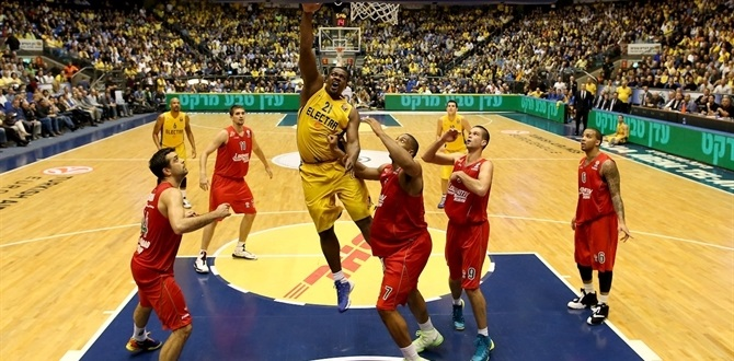 Maccabi center Schortsanitis sidelined with ankle sprain