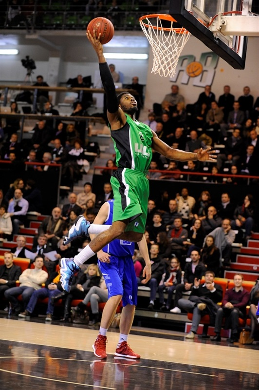 Travis Leslie - Asvel Villeurbanne - EC13 (photo Asvel)