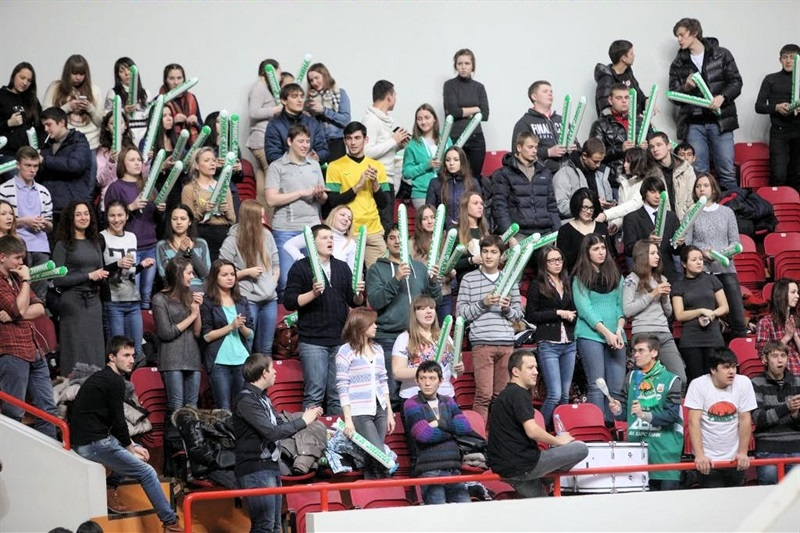 Unics Kazan fans - EC13 (photo Unics)