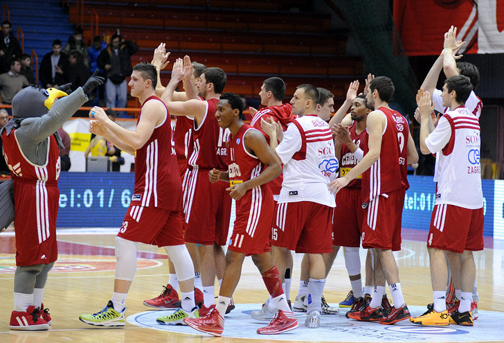 Cedevita Zagreb celebrates - EC13 (photo cedevita)