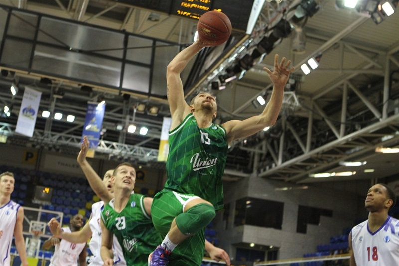 Deividas Gailius - Union OLimpija - EC13 (photo Paris Levallois)