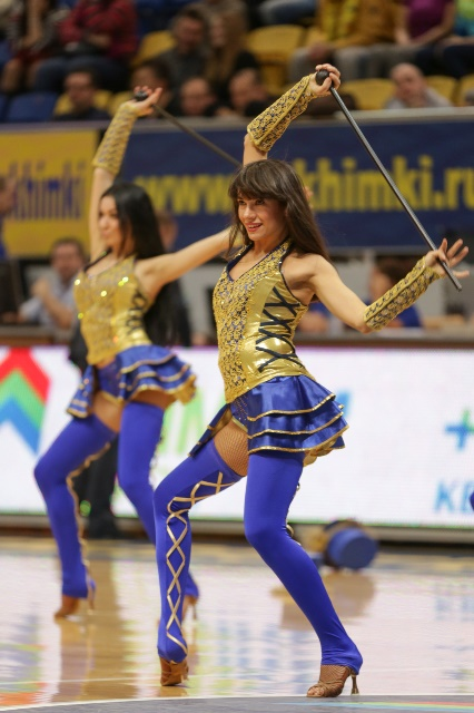Khimki Moscow Region cheerleaders - EC13 (photo bckhimki.ru)