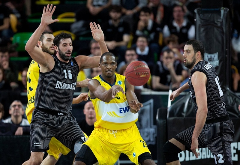 Rickey Paulding - EWE Baskets - EC13 (photo Bilbao Basket)