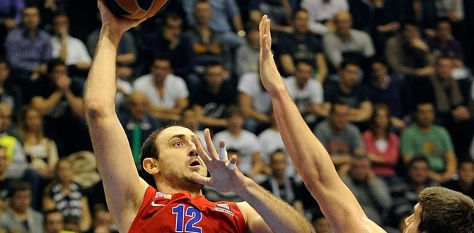 bwin MVP for January: Nenad Krstic, CSKA Moscow