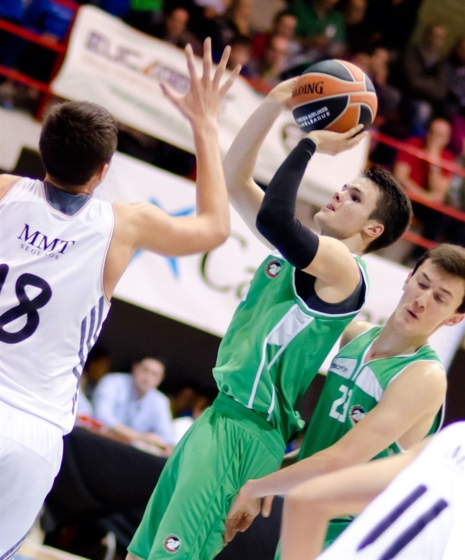 Grega Sajevic - Real Madrid vs. Union Olimpija Ljubljana - JT Hospitalet - EB13 (photo Marta Forne Sala)