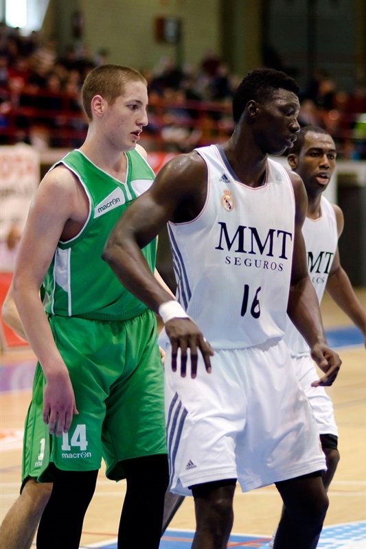 Waly Niang - Real Madrid vs. Union Olimpija Ljubljana - JT Hospitalet - EB13 (photo Marta Forne Sala)
