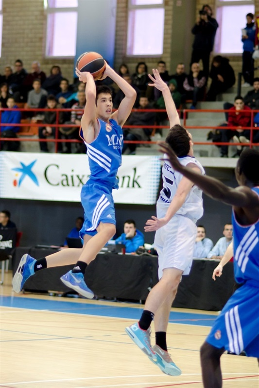 Andres Rico - Real Madrid - JT Hospitalet - EB13 (photo Marta Forne Sala)
