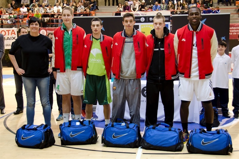 All Tournament team - JT Hospitalet - EB13 (photo Marta Forne Sala)
