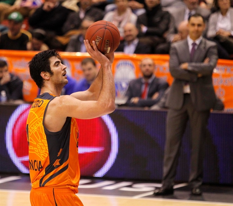 Juan Jose Triguero - Valencia Basket - EC13 (photo Miguel Angel Polo - Valencia Basket)