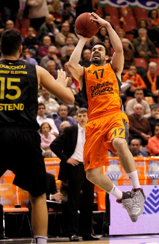 Rafa Martinez - Valencia Basket - EC13 (photo Miguel Angel Polo - Valencia Basket)