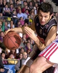 Antoine Rigaudeau  - Kinder Bologna - Euroleague 2000-01