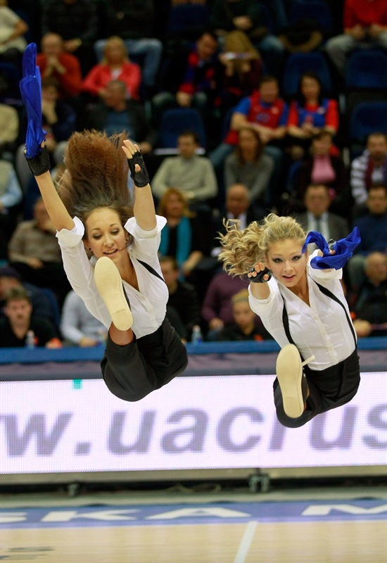 CSKA Moscow cheerleaders - EB13