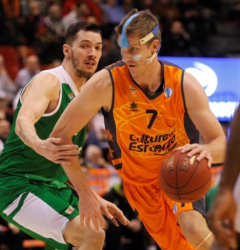 Justin Doellman - Valencia Basket - EC13 (photo Miguel Angel Polo - Valencia Basket)