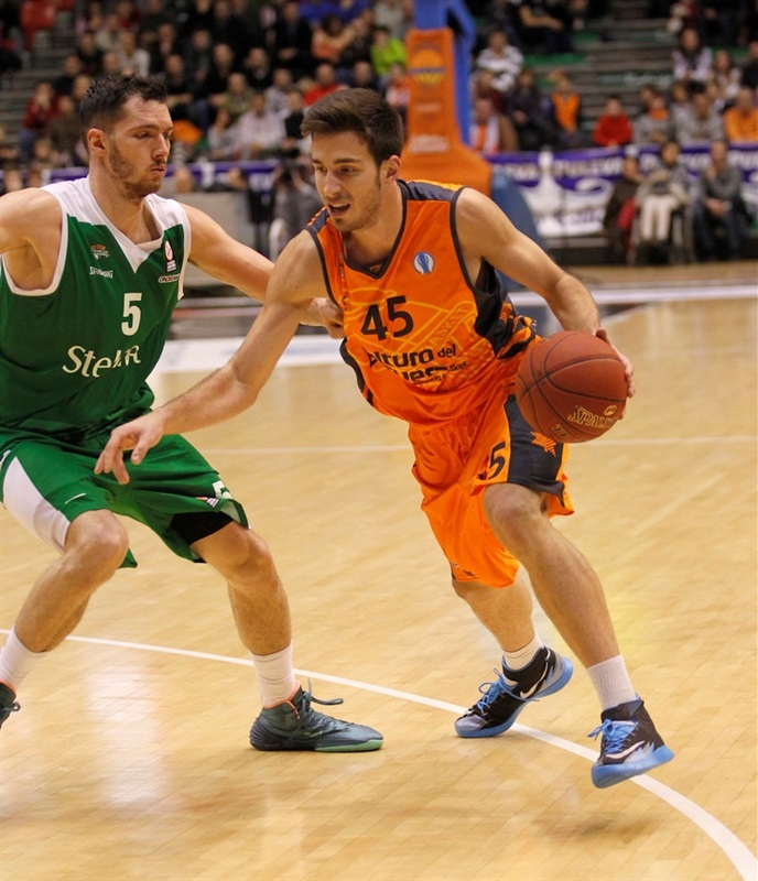 David Guardia - Valencia Basket - EC13 (photo Miguel Angel Polo - Valencia Basket)