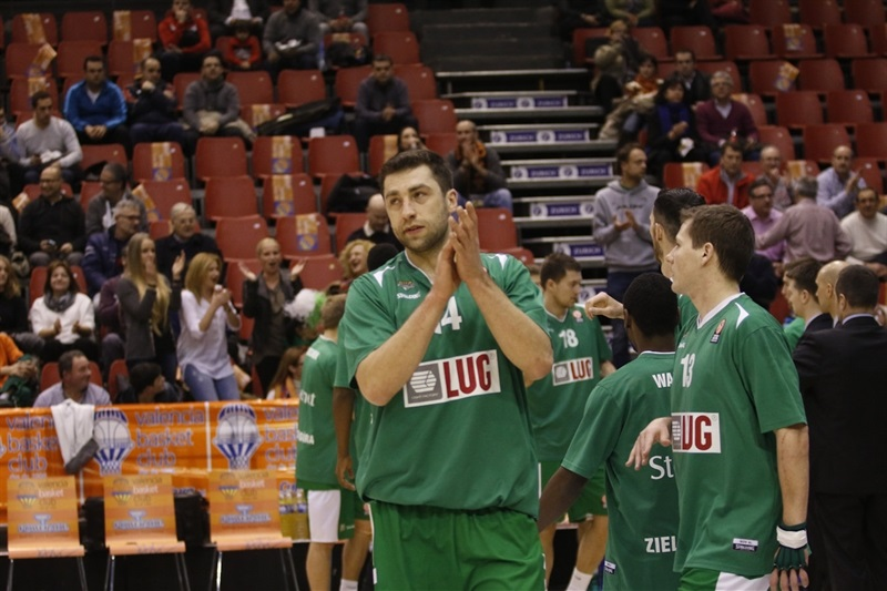 Stelmet Zielona Gora - EC13 (photo Miguel Angel Polo - Valencia Basket)