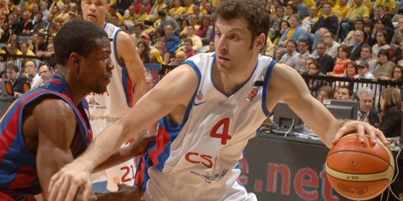 Theo Papaloukas - CSKA Moscow - 2006 Final Four Prague