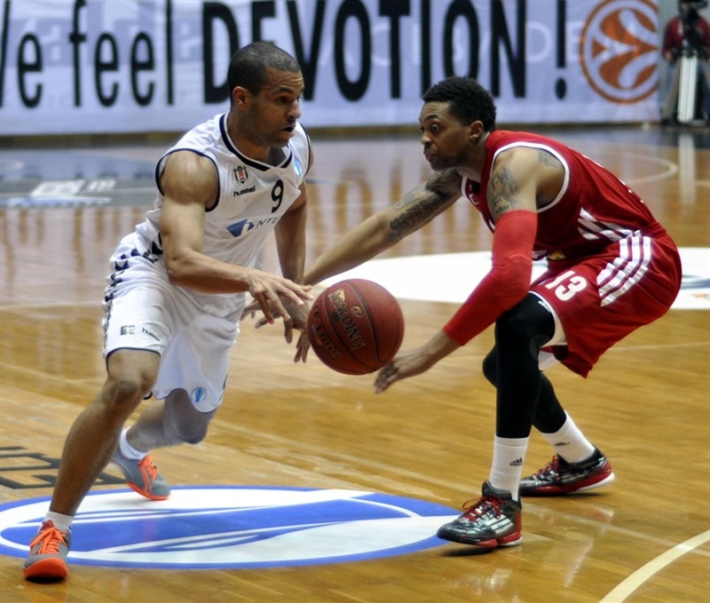 Allan Ray - Cedevita Zagreb - EC13 (photo Besiktas)