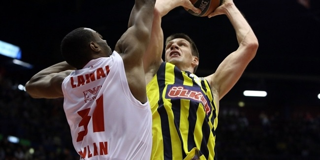 Banvit puts Vidmar in the paint