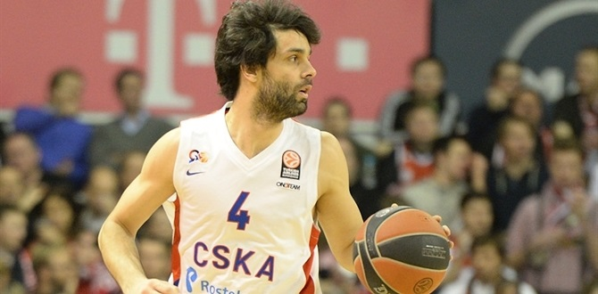 CSKA's Teodosic out for first week of playoffs