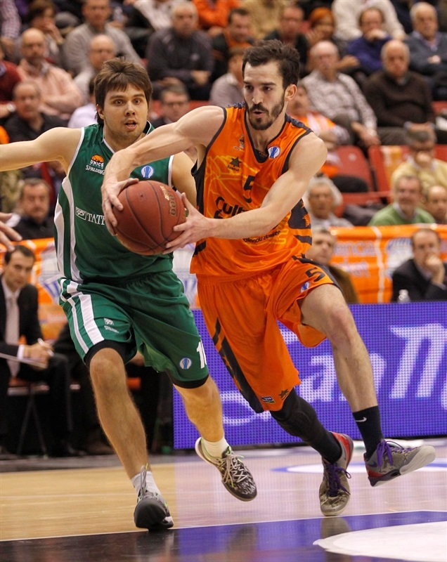 Pau Ribas - Valencia Basket - EC13 (photo Miguel Angel Polo - Valencia Basket)