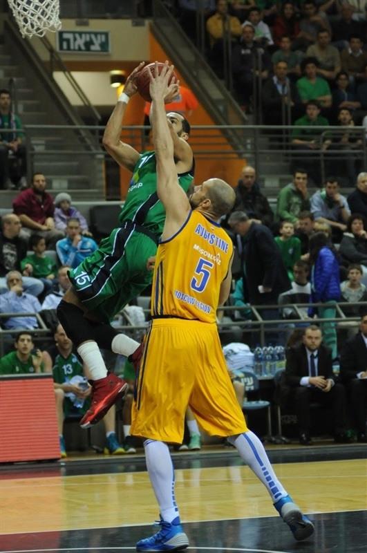 Brian Randle - Maccabi Haifa - EC13 (photo Maccabi Haifa - Omri Shtain)