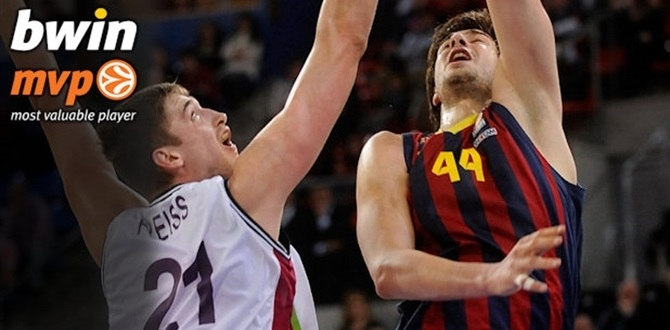 Top 16, Round 7 bwin MVP: Ante Tomic, FC Barcelona