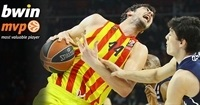 Top 16, Round 8 bwin MVP: Ante Tomic, FC Barcelona
