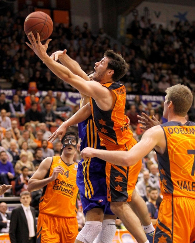 Sam Van Rossom - Valencia Basket - EC13 (photo Miguel Ángel Polo - Valencia Basket)