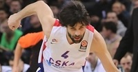CSKA's Teodosic to miss upcoming games