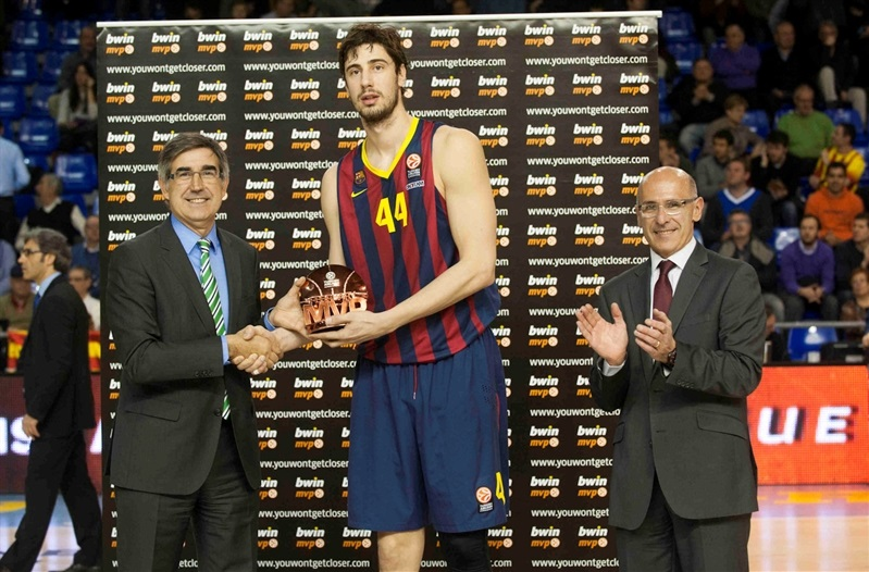 Ante Tomic - FC Barcelona - MVP February Euroleague - EB13