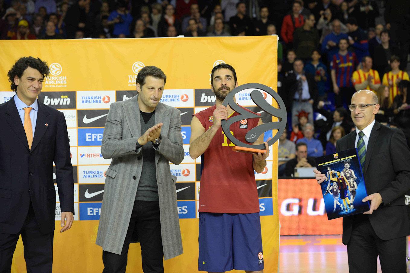 Juan carlos Navarro - games-played record - EB13